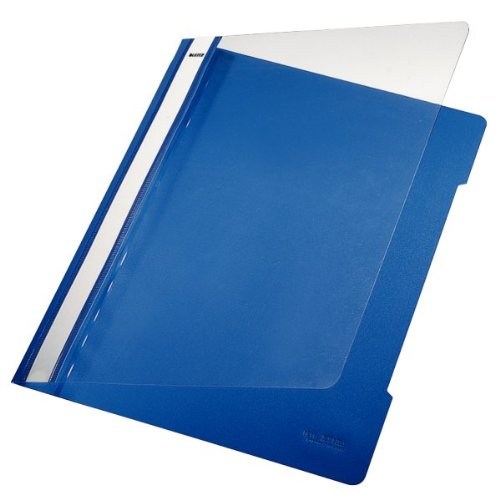 Leitz 4191 Pvc Project File Blue Pack Of 25 Q8supply